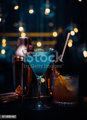 istock Luxury celebration set up 874895492