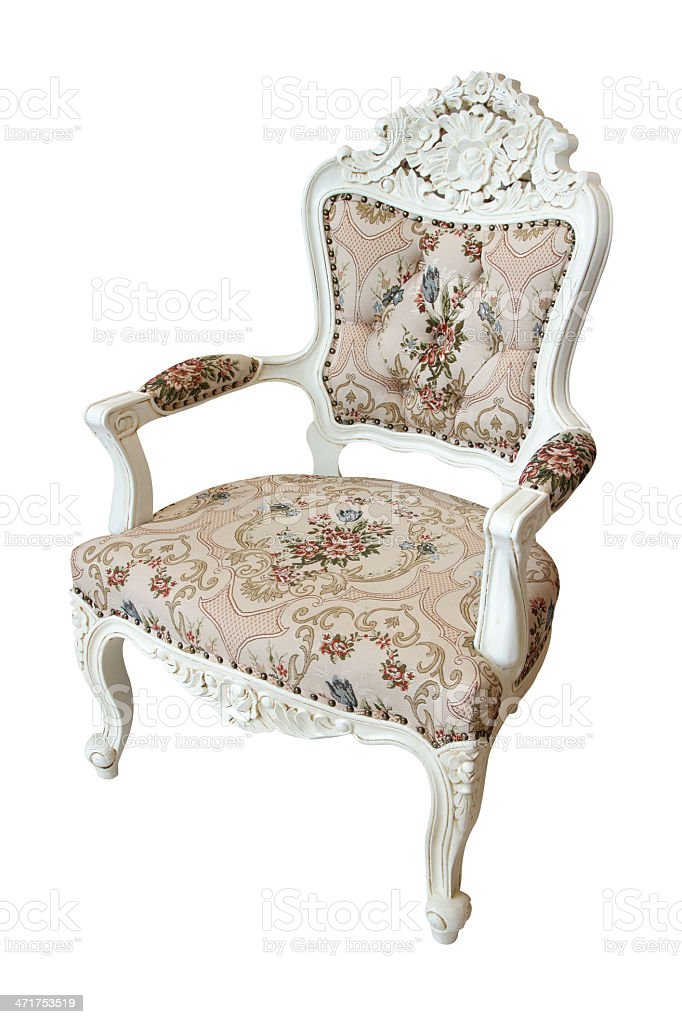 Luxury chair royalty-free stock photo