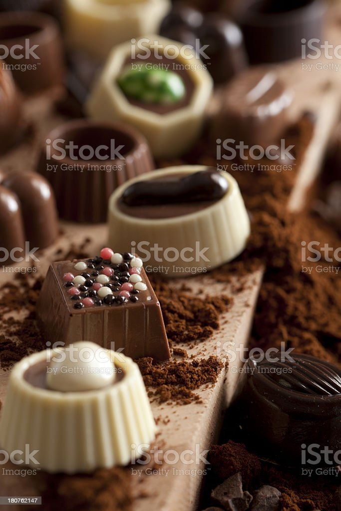 Luxury Chocolate royalty-free stock photo
