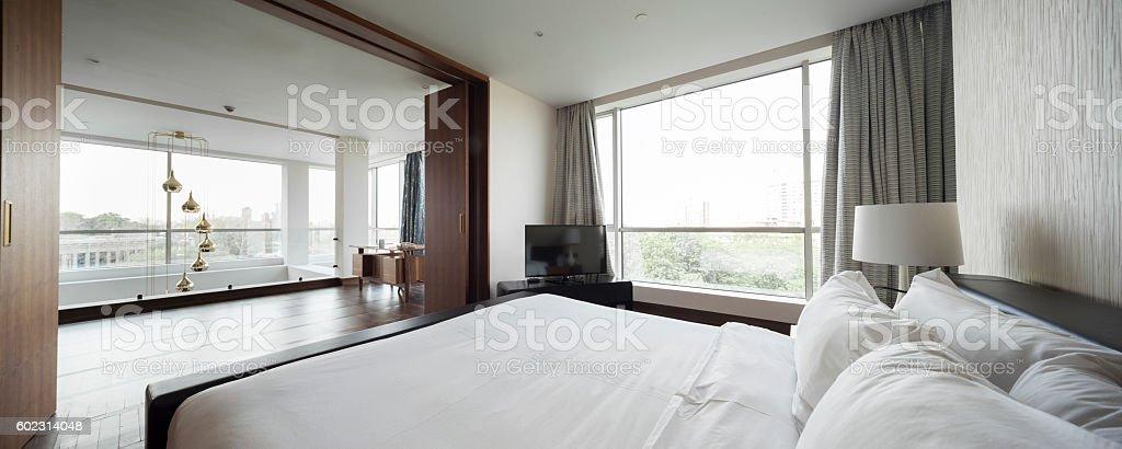 Luxury classic bedroom interior – Foto