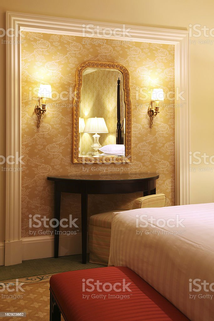 Luxury Classical Bedroom royalty-free stock photo