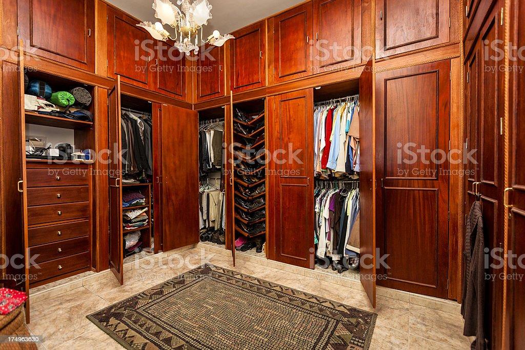 ... Luxury Closet Room Stock Photo ...
