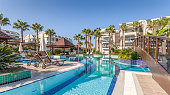 luxury Construction hotel  Swimming Pool