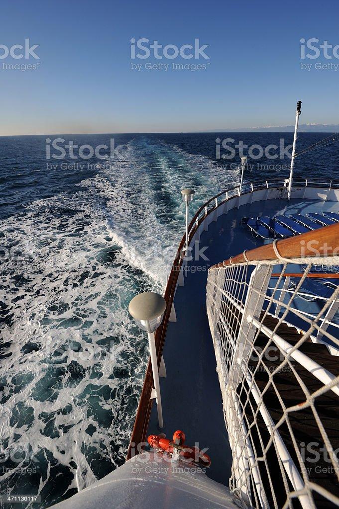 Luxury cruise ship royalty-free stock photo