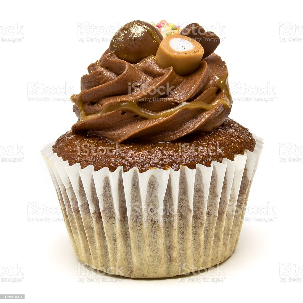 Luxury Cup Cake royalty-free stock photo