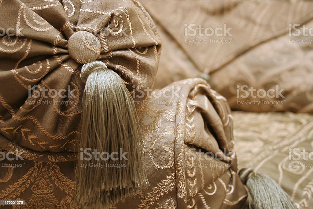 Luxury Cushions royalty-free stock photo