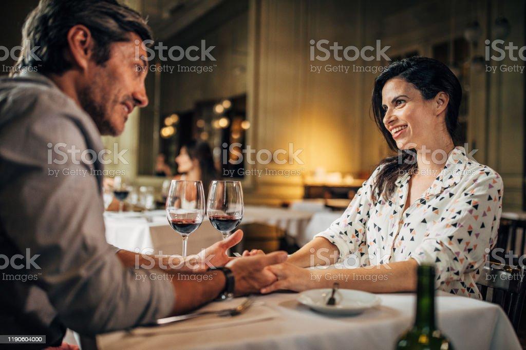 Luxury Date In Elite Restaurant Stock Photo Download Image Now Istock