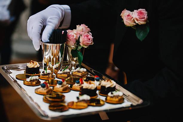 Luxury Delicious Appetizer Serving - foto de stock