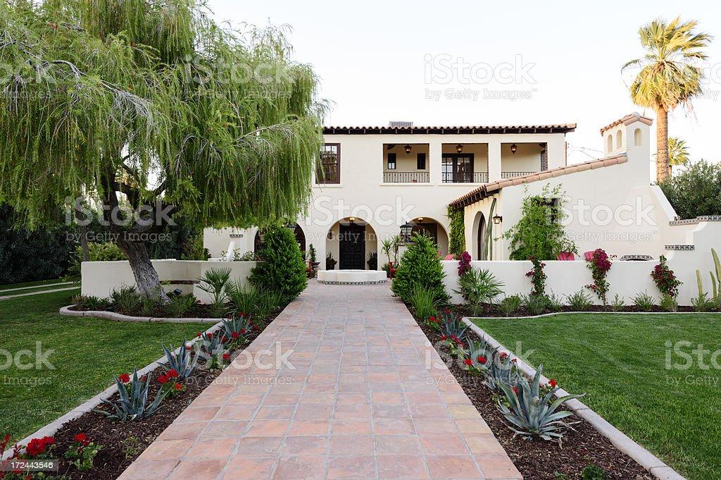 Luxury Desert Home royalty-free stock photo