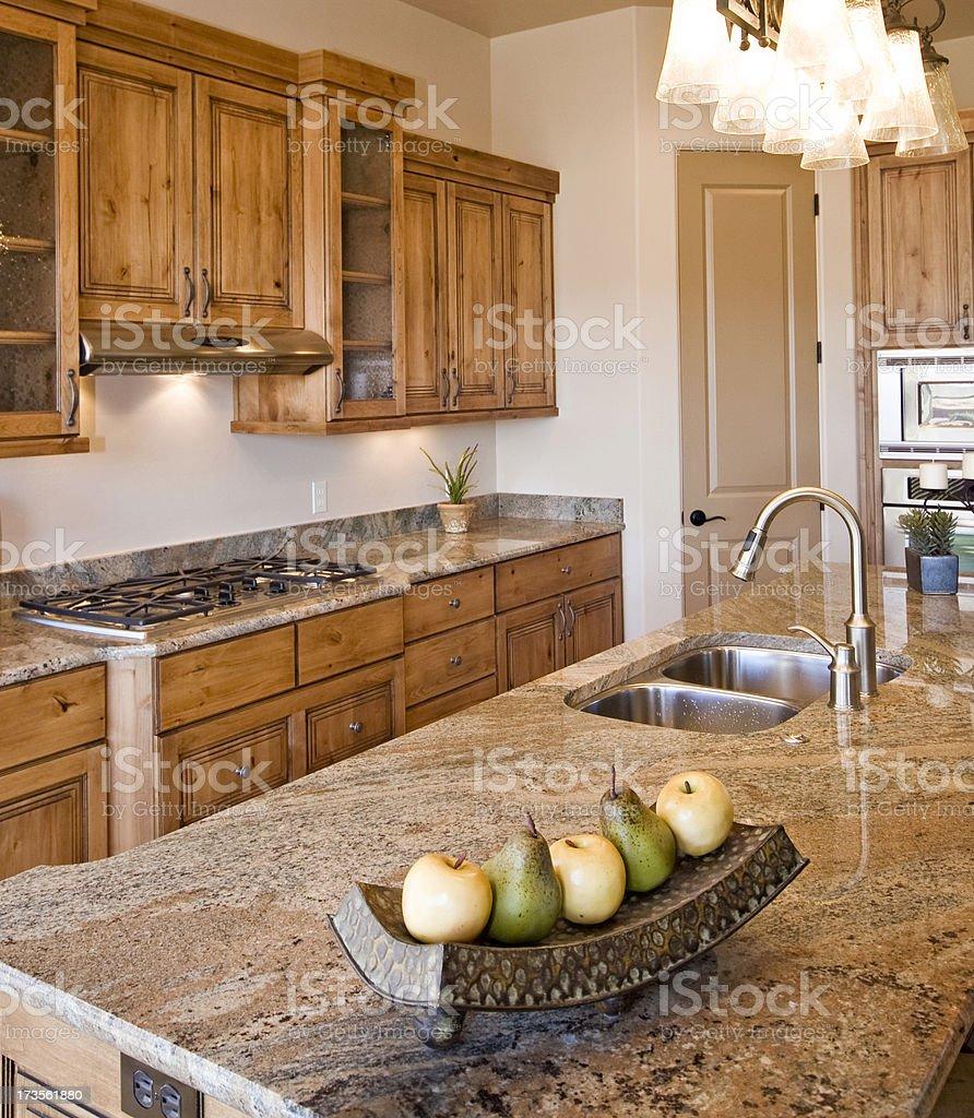 Luxury Designer Kitchen royalty-free stock photo