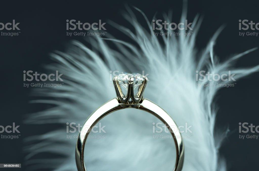 Luxury Diamond Ring royalty-free stock photo