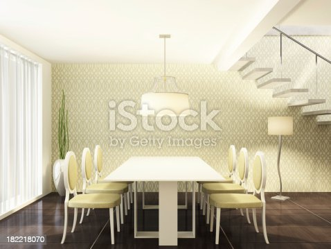470812928 istock photo Luxury Dining Room 182218070