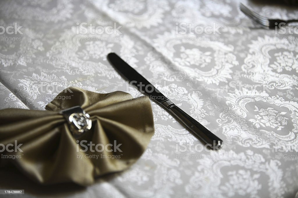 Luxury dinner royalty-free stock photo