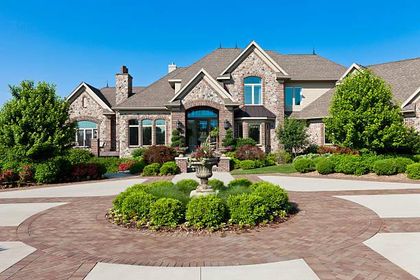 Luxury Dream Home stock photo