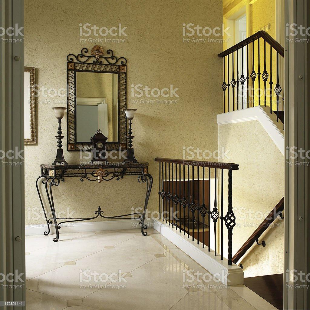 Luxury Entrance Hall royalty-free stock photo