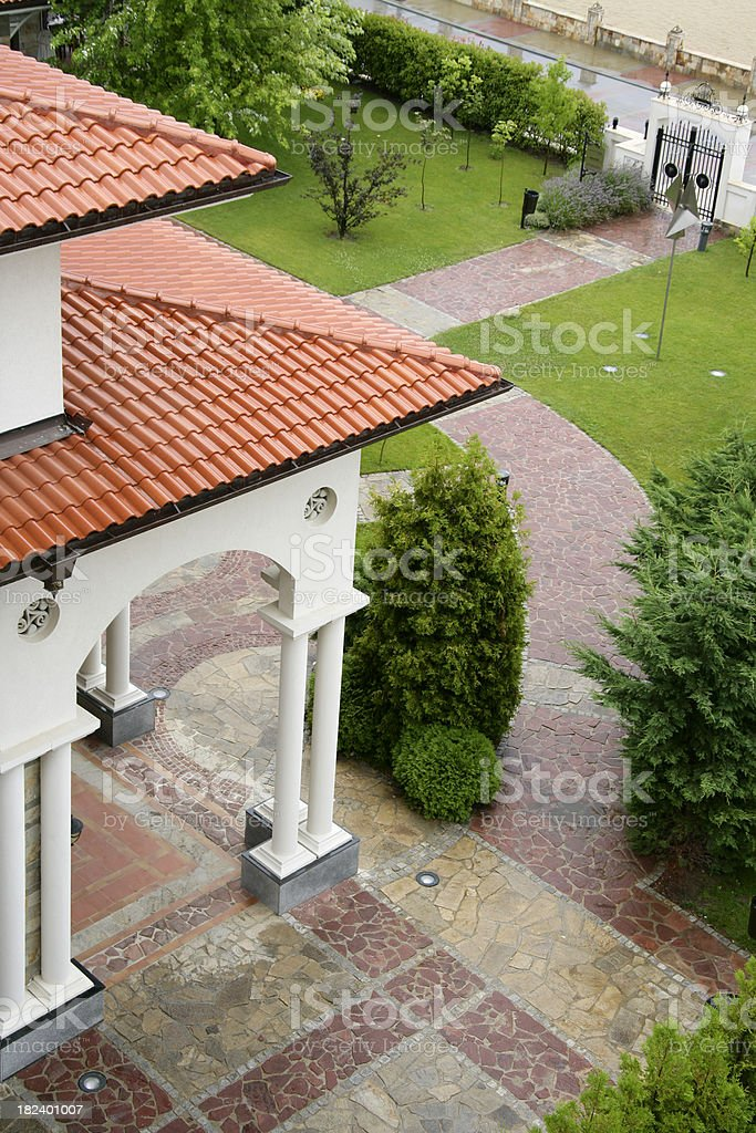 Luxury estate royalty-free stock photo