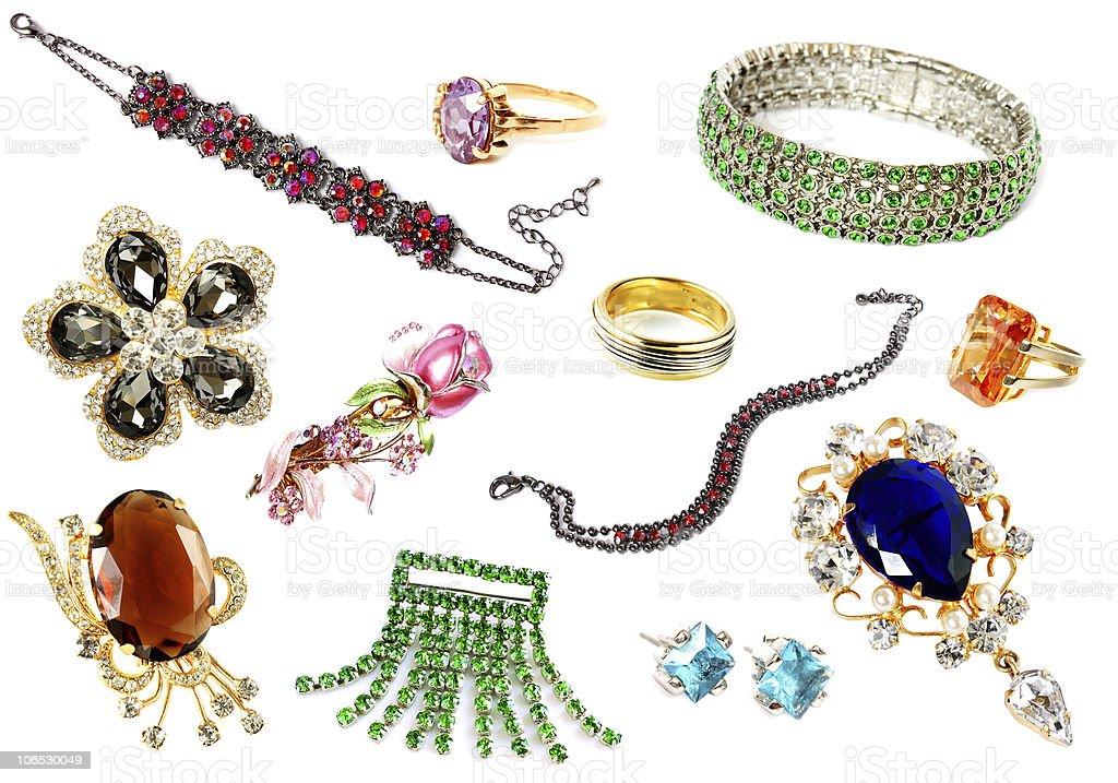 luxury feminine accessories royalty-free stock photo
