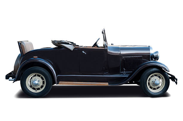 luxury ford a coupe 1928 - 1920s style stock photos and pictures