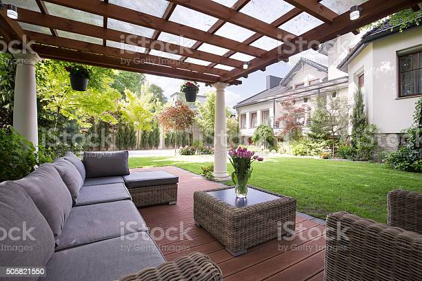 Free landscape home images pictures and royalty free for Jardin bien amenage