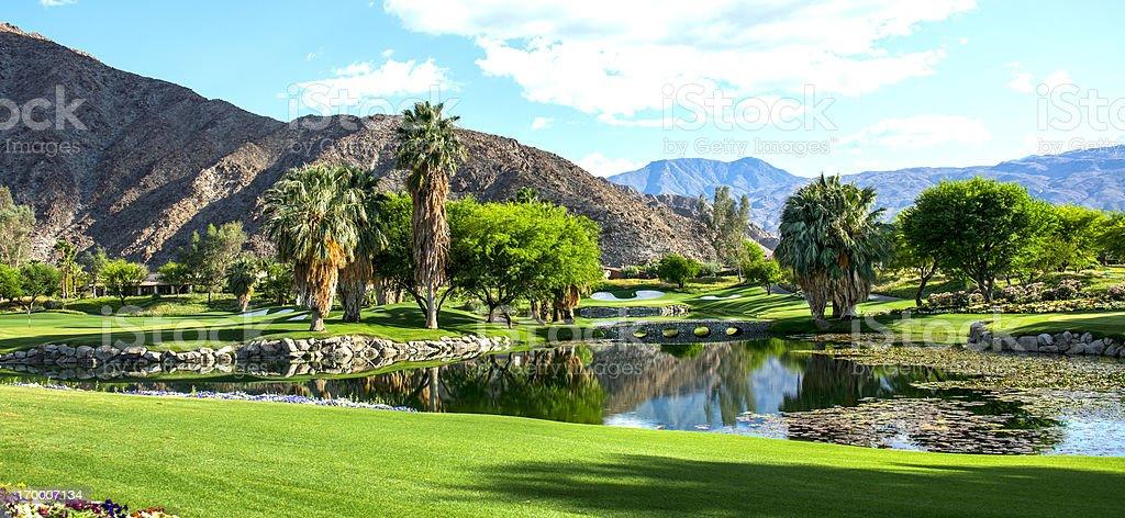 Luxury Golf Course stock photo
