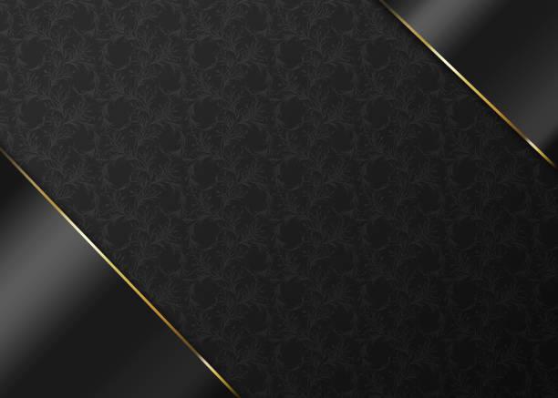 luxus grau und gold hintergrund layout vorlage - kunst 1. klasse stock-fotos und bilder