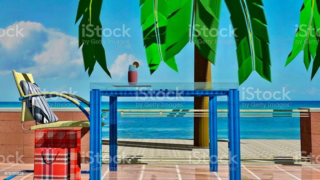 豪華度假屋 免版稅 stock photo