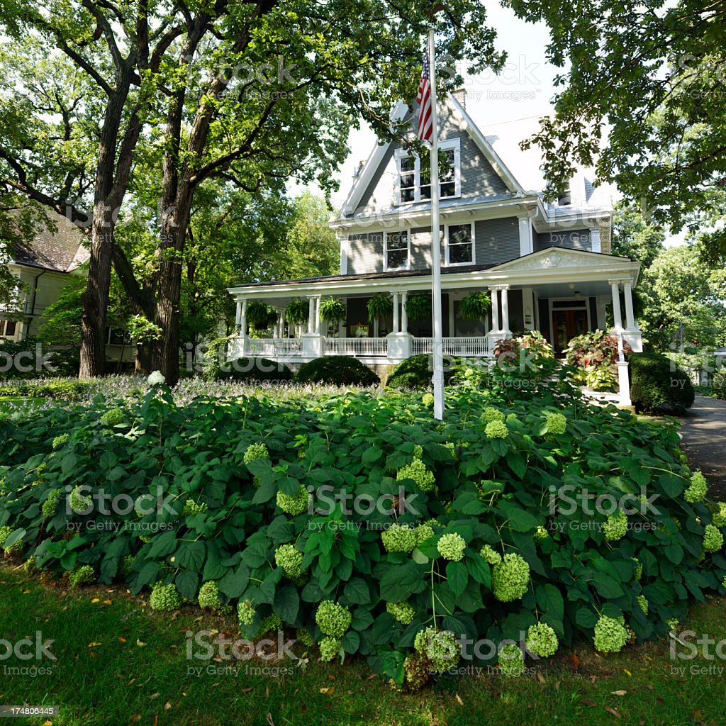 Luxury Home, Chicago royalty-free stock photo