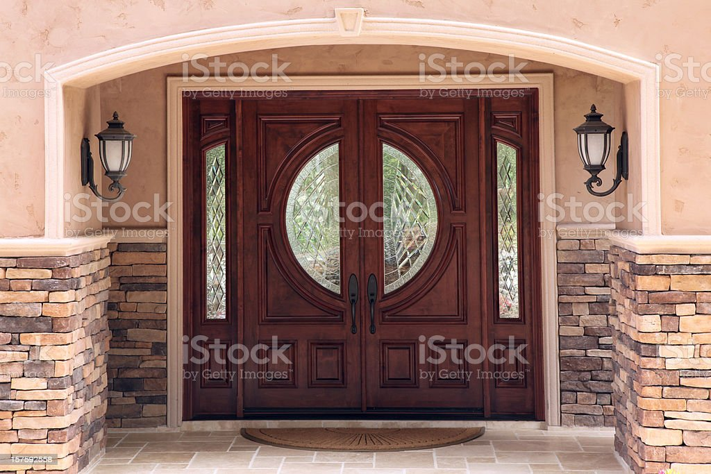 Luxury Home Entrance
