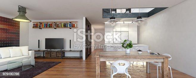 istock Luxury Home Interior 929490766