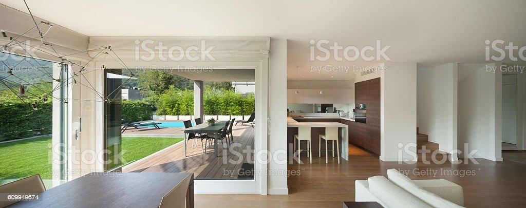 Luxury Home Interior Wide Open Space Stockfoto und mehr ...
