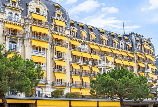 Luxury hotel in Montreux, Switzerland