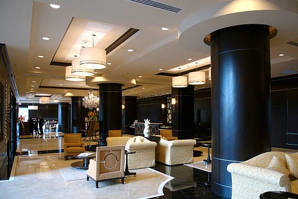 Luxuriöse Hotel-Lobby – Foto