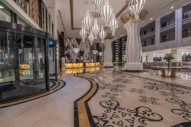 Hall de l'hôtel de luxe - Photo