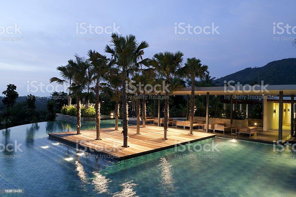 luxury hotel resort villa phuket royalty-free stock photo