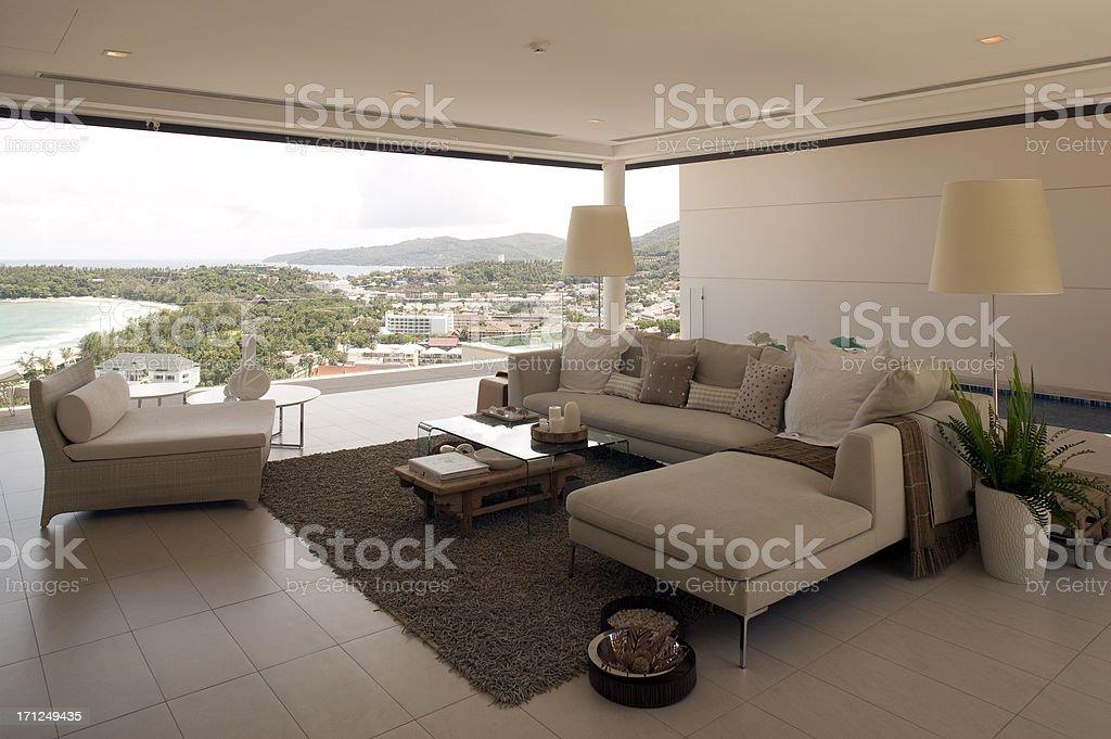 luxury hotel resort villa royalty-free stock photo