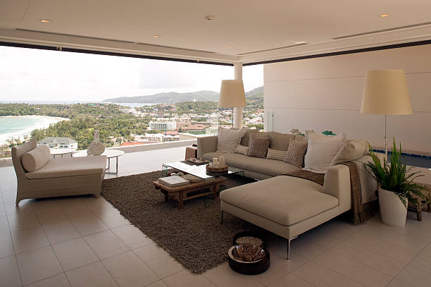 luxushotel-resort-villa - ferienhaus thailand stock-fotos und bilder