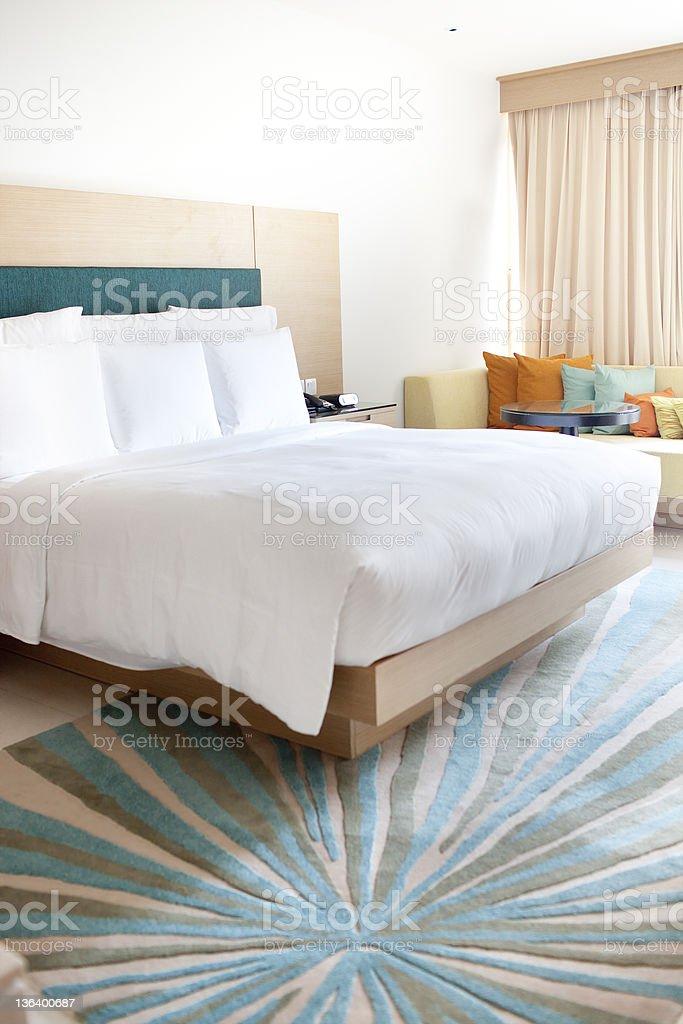 Luxury hotel room in Phuket,Thailand royalty-free stock photo