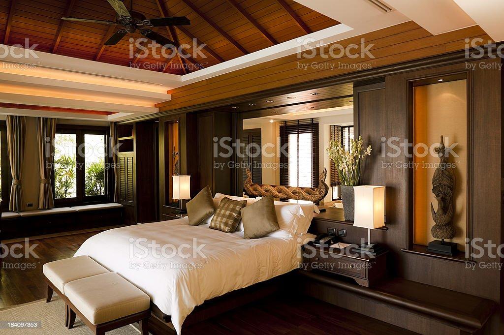 luxury hotel room suite villa phuket thailand royalty-free stock photo