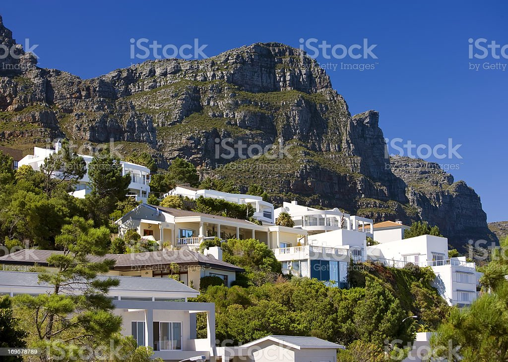 A luxury house in South Africa royalty-free stock photo
