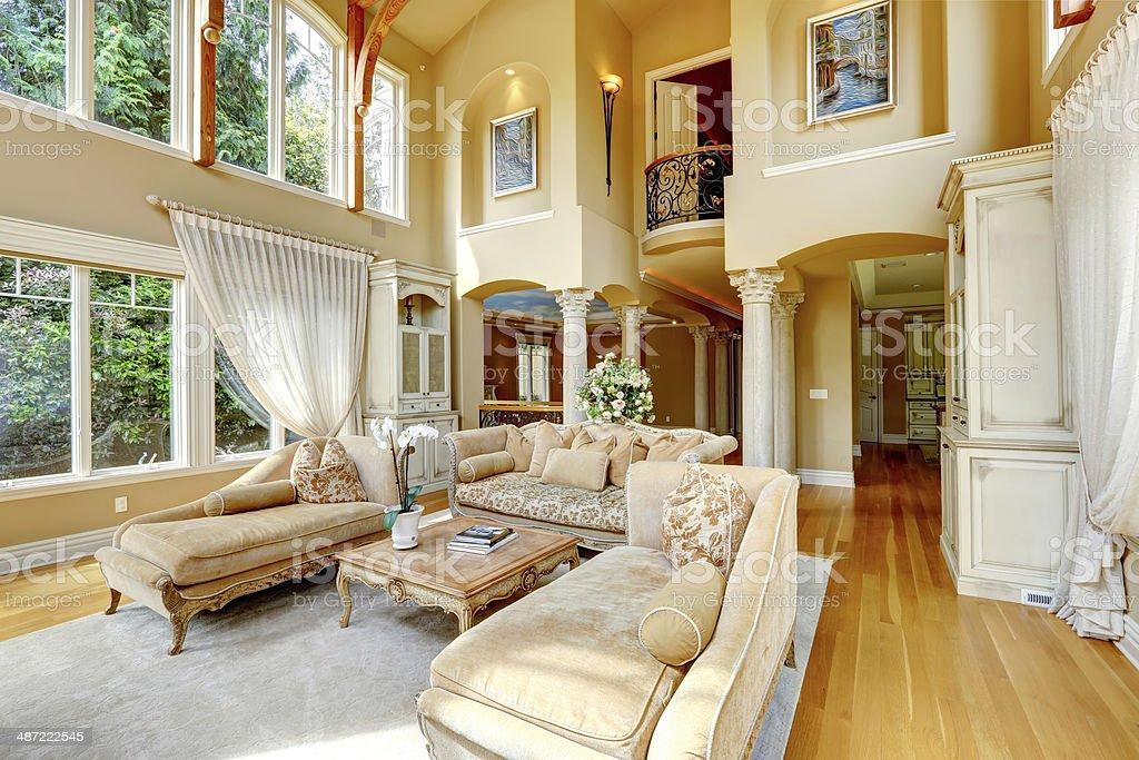 Luxus Haus Innen Wohnzimmer Room Stockfoto Und Mehr Bilder Von Architektur Istock