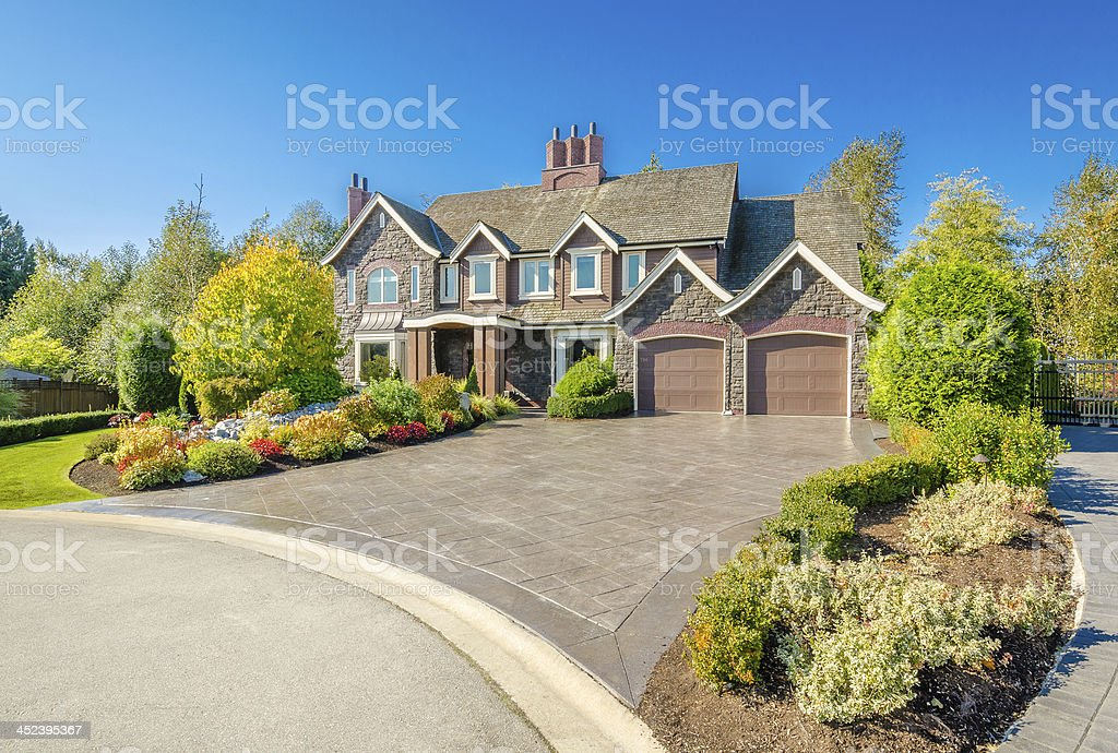 Luxury House - 免版稅住宅建築圖庫照片