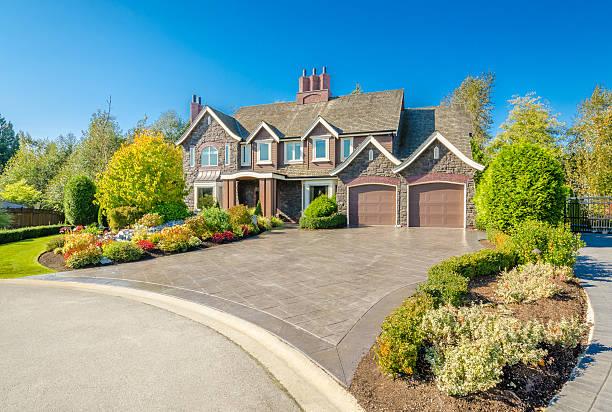 Luxury House stock photo