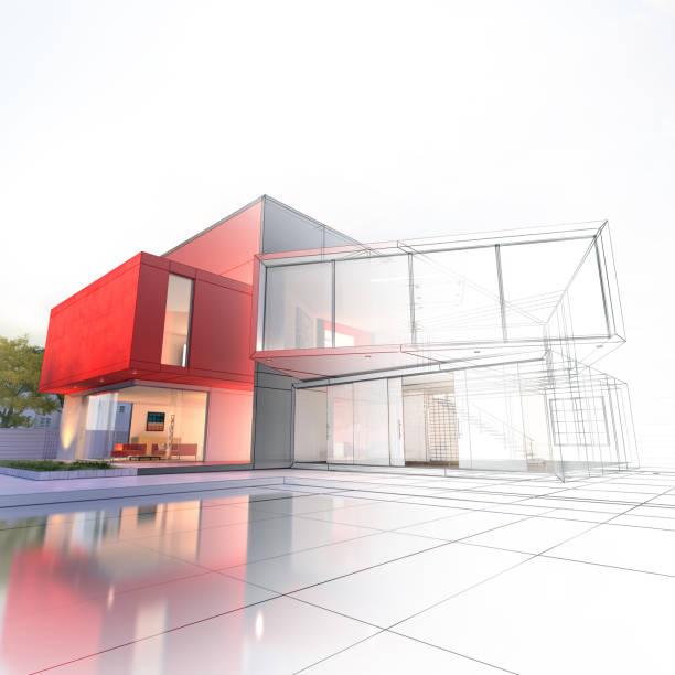 Projet de maison de luxe - Photo