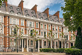 istock Luxury houses in Palace Green Quarter, London, United Kingdom 1163337137