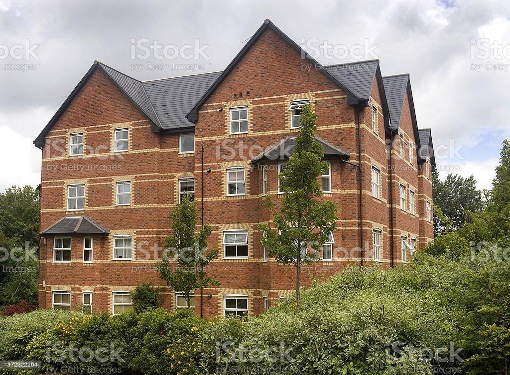 Luxury housing development royalty-free stock photo