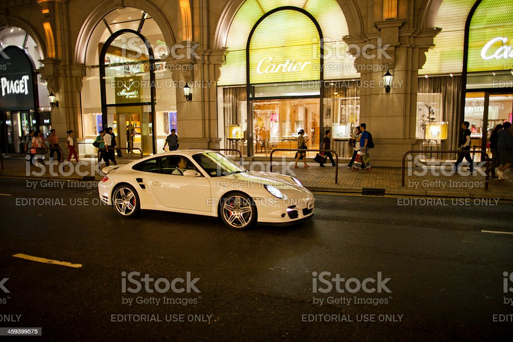Luxury in Hong Kong royalty-free stock photo