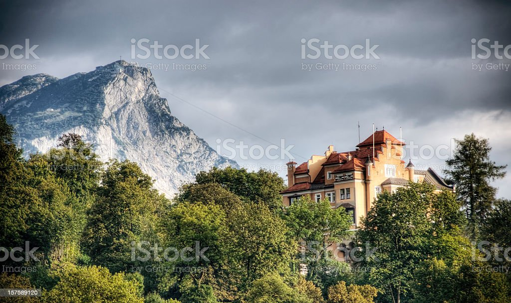 Luxury in the Alps royalty-free stock photo