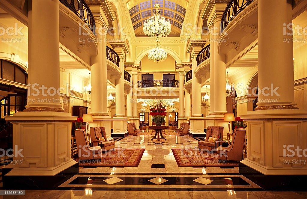 Luxuriöse Innenausstattung von einem hotel – Foto