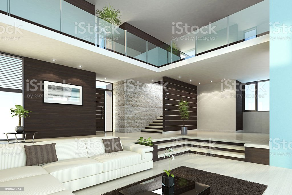 Luxus Interior Penthouse – Foto