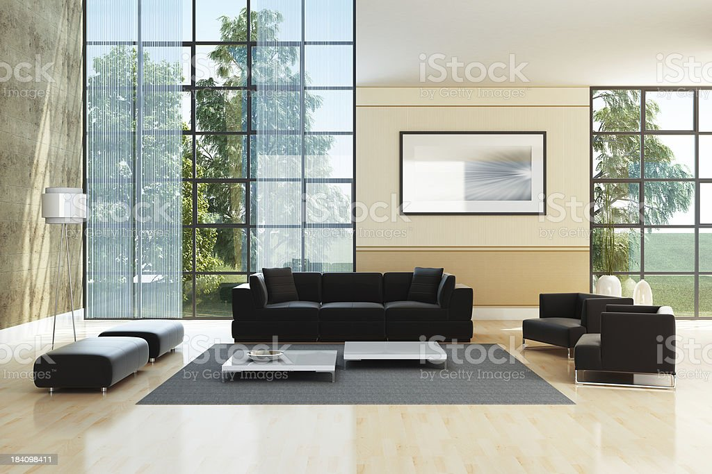 Luxury Interior royalty-free stock photo